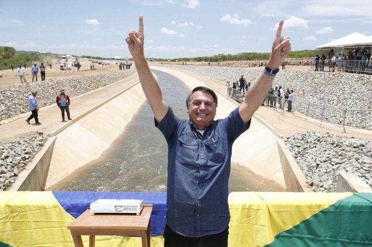 Presidente participa de acionamento de comportas da Integração do Rio São Francisco; obra beneficia Paraíba e Pernambuco - WSCOM